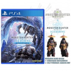 Monster Hunter Iceborne Game + Expansion Master Edition