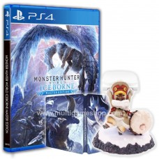 Monster Hunter Iceborne Master Edition +Palico Controller Holder +Steelcase