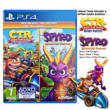 Spyro + Crash Bandicoot Nitro Bundle Pack