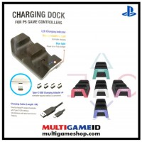 PS5 Charging Dock PG-Tech (Purple)