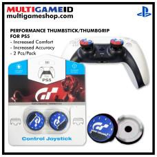PS5/PS4 Performance Thumb Grips Granturismo Blue