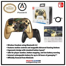 Switch Wireless Rechargeable Controller Gold Link (PowerA)