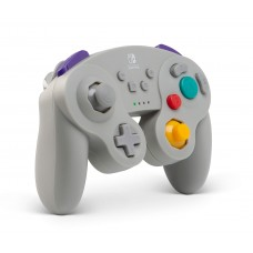 Switch Wireless Controller GameCube Grey (PowerA) 01877-0