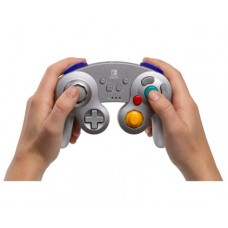 Switch Wireless Controller GameCube SILVER Metallic (PowerA) 01897-8