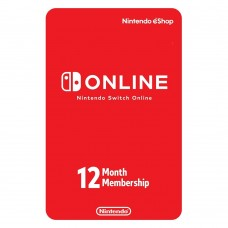 Nintendo Switch eShop Online 12Months Individual Membership