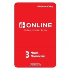 Nintendo Switch eShop Online 3Months Individual Membership
