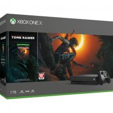 XB1-X 1TB Shadow of the Tomb Raider Bundle (Black)