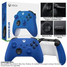 New XBox Series Wireless Controller (Shock Blue)