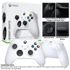 New XBox Series Wireless Controller (Robot White)
