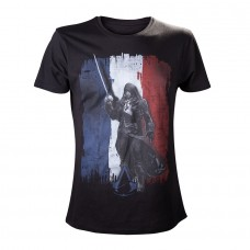 Assassins Creed Unity Black, French Flag Arno