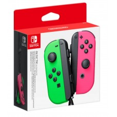 Switch Joycon Left + Right (Green+Pink) SplatOOn